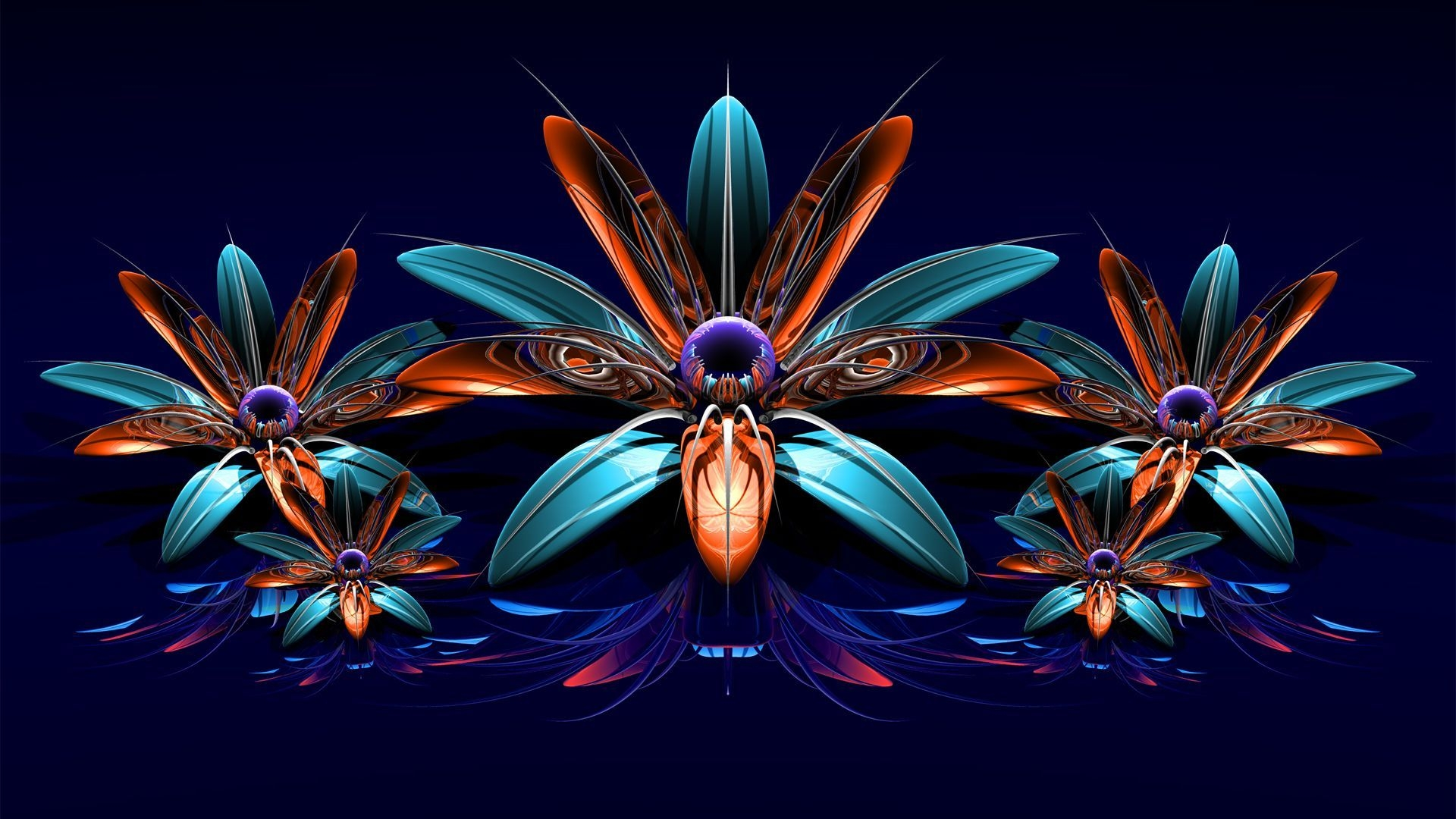 Fractal wallpapers pictures images for Sfondi desktop 3d