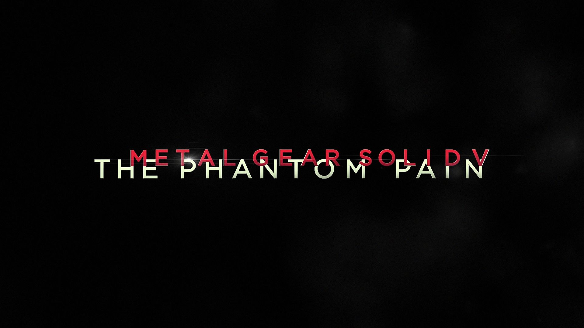 Metal gear solid 5 phantom pain logo