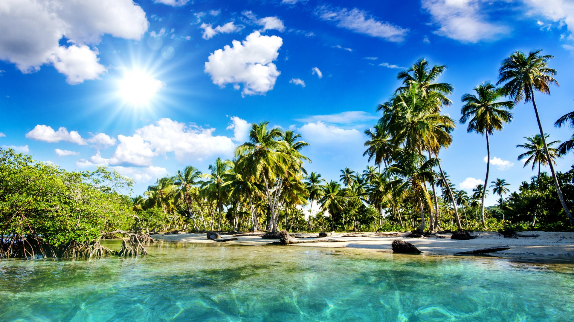 10 Best Tropical Beach Desktop Backgrounds Full Hd 1920