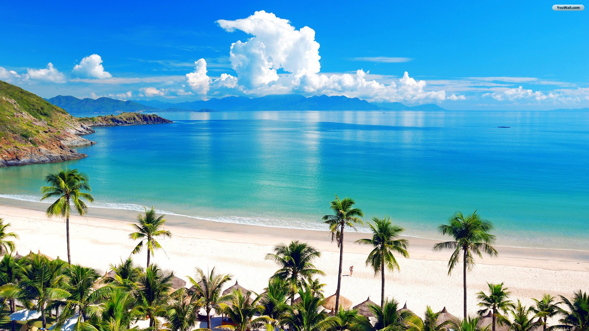 Beach Background Hd Desktop Wallpapers: Tropical Beach Wallpapers, Pictures, Images