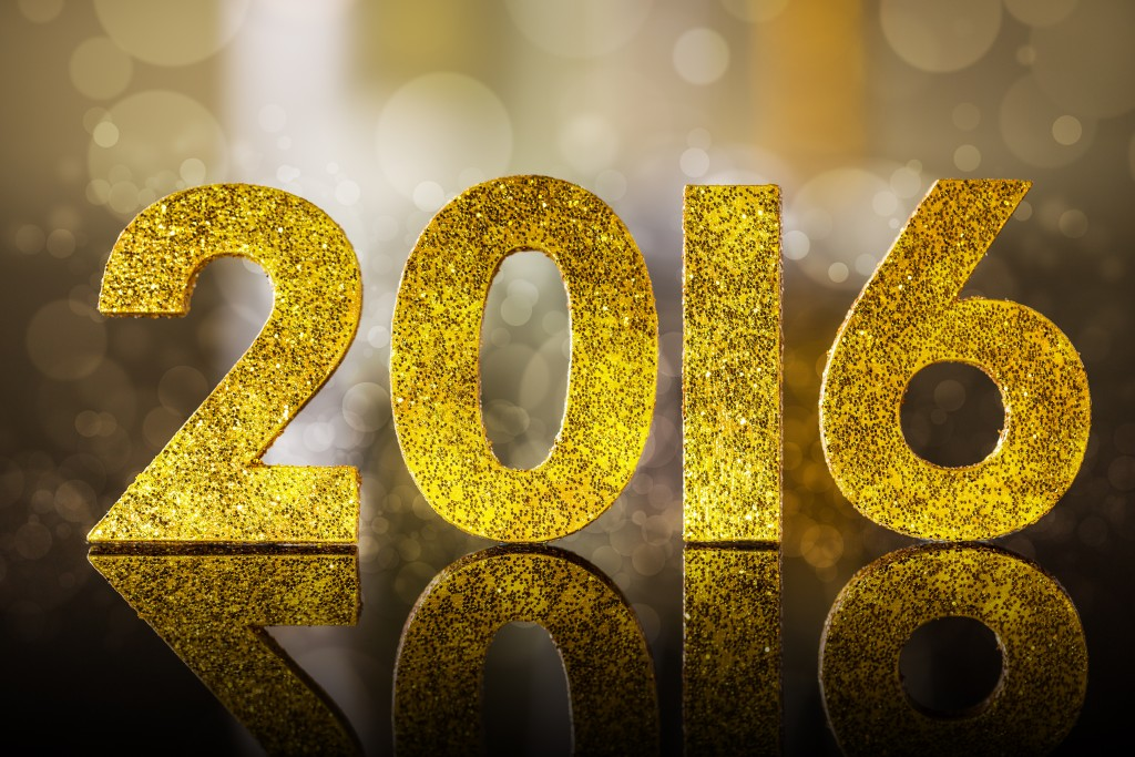 Happy New Year 2016 Wallpaper 5287x3524