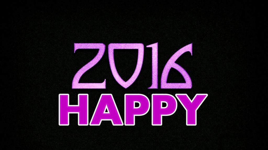 Happy New Year 2016 Full HD Wallpaper 1920x1080