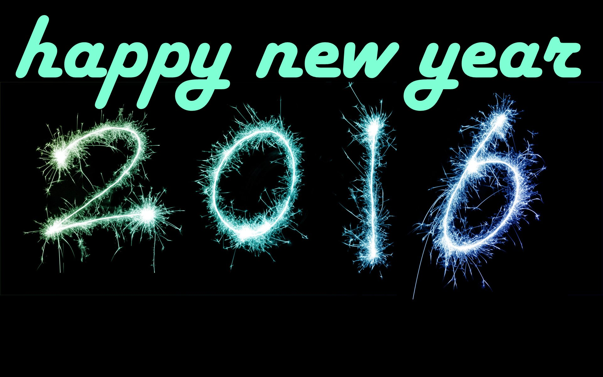 happy new year 2016 widescreen wallpaper 1920x1200