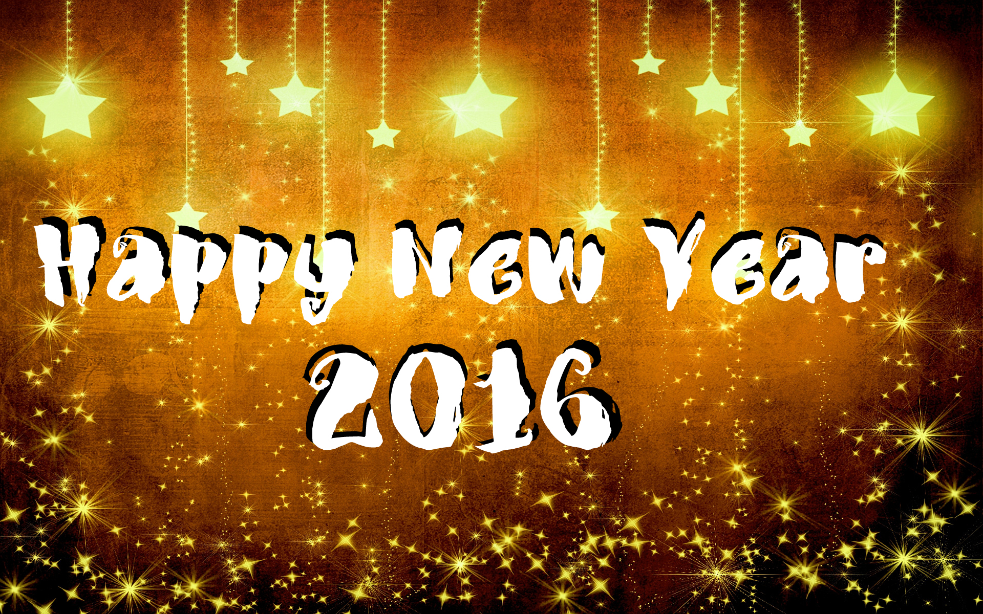 15056 – Happy New Year 2016 Widescreen Wallpaper – 1920×1200