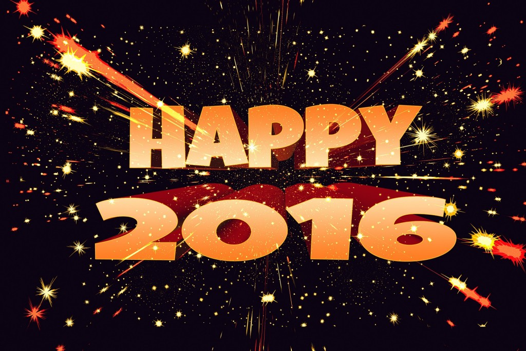 Happy New Year 2016 Wallpaper 1920x1285