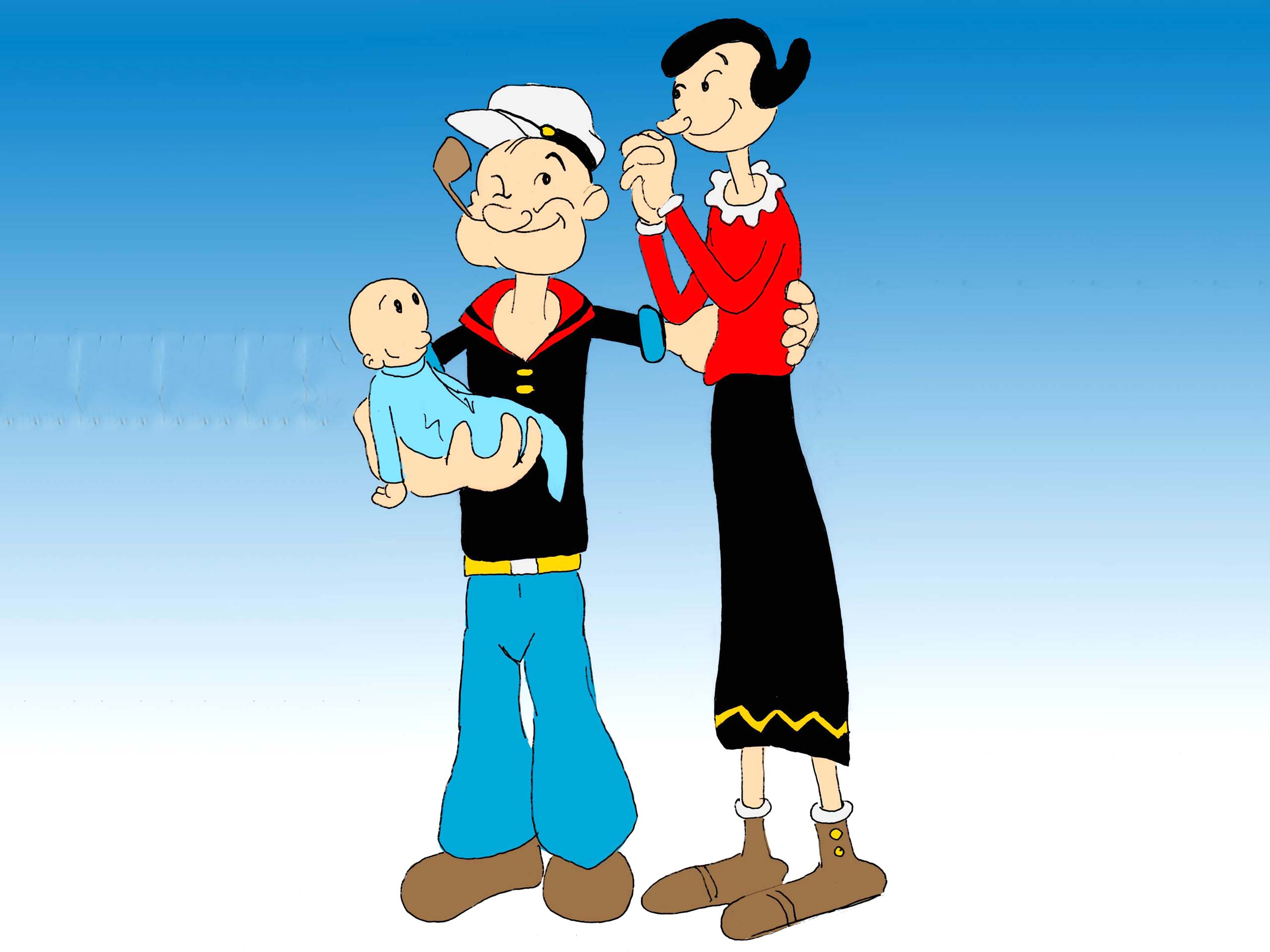 Popeye Wallpapers, Pictures, Images  Popeye Wallpape...