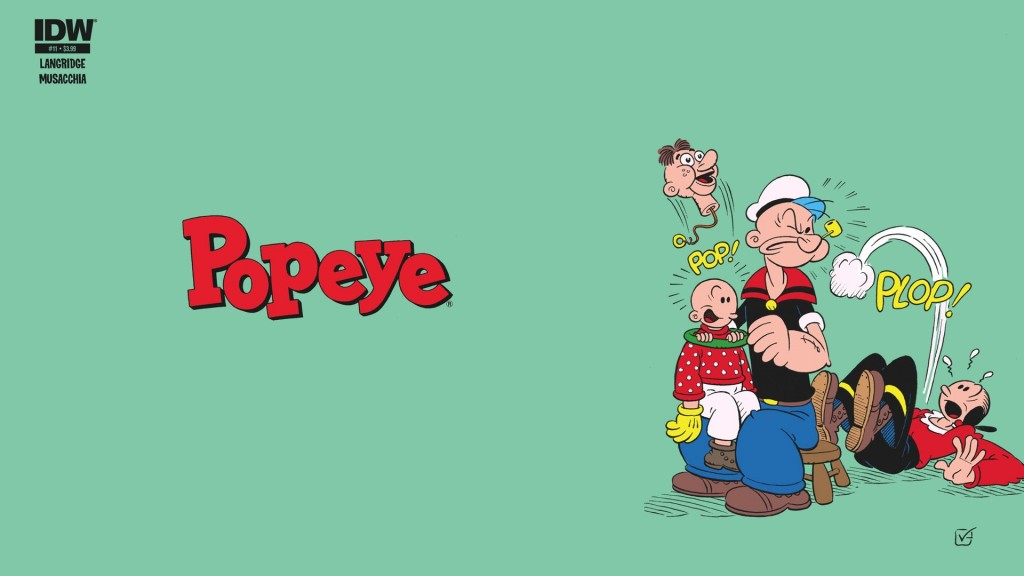 Popeye Wallpaper