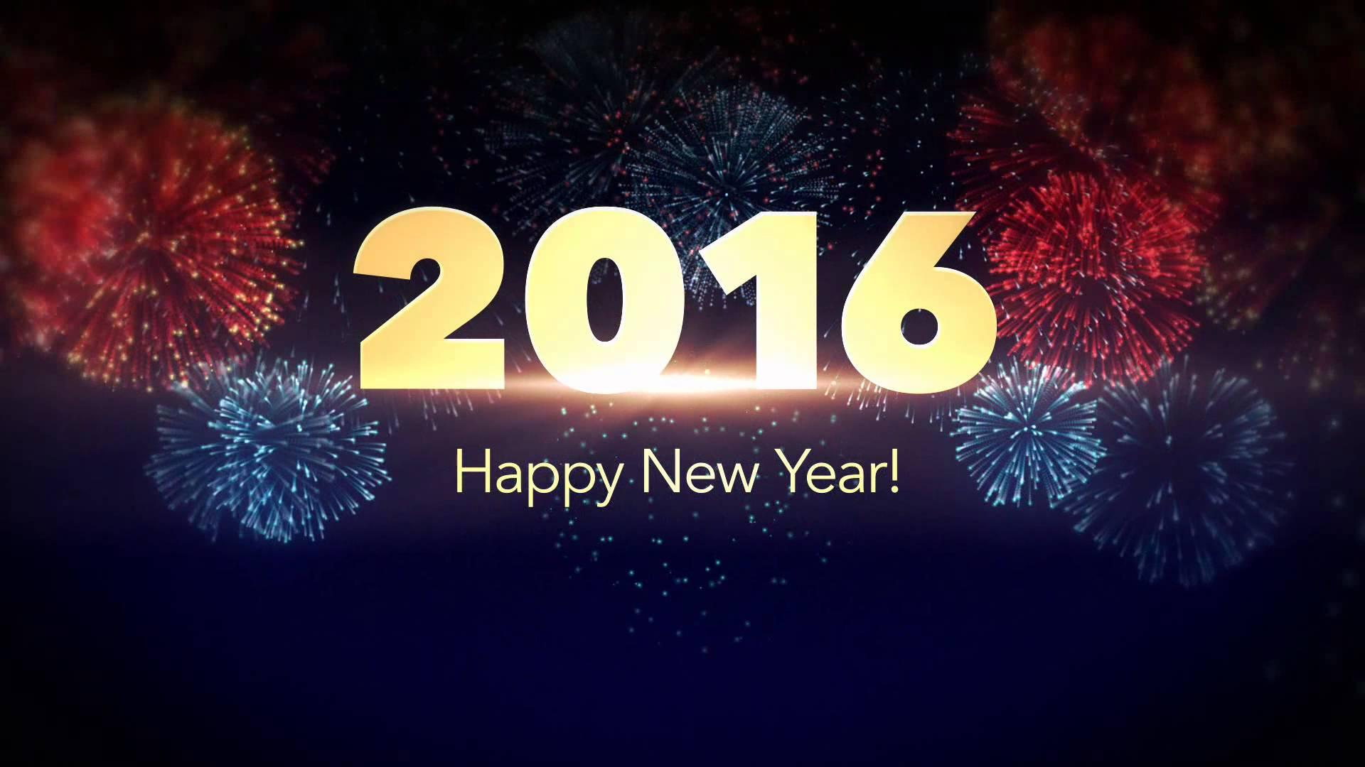 Wallpaper Happy New Year 2016