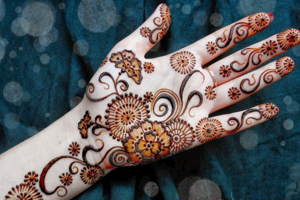 Mehndi Design Wallpaper