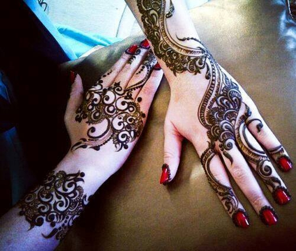 13 Unique Henna Designs Doing The Rounds This Wessing: Mehndi Design Wallpapers, Pictures, Images
