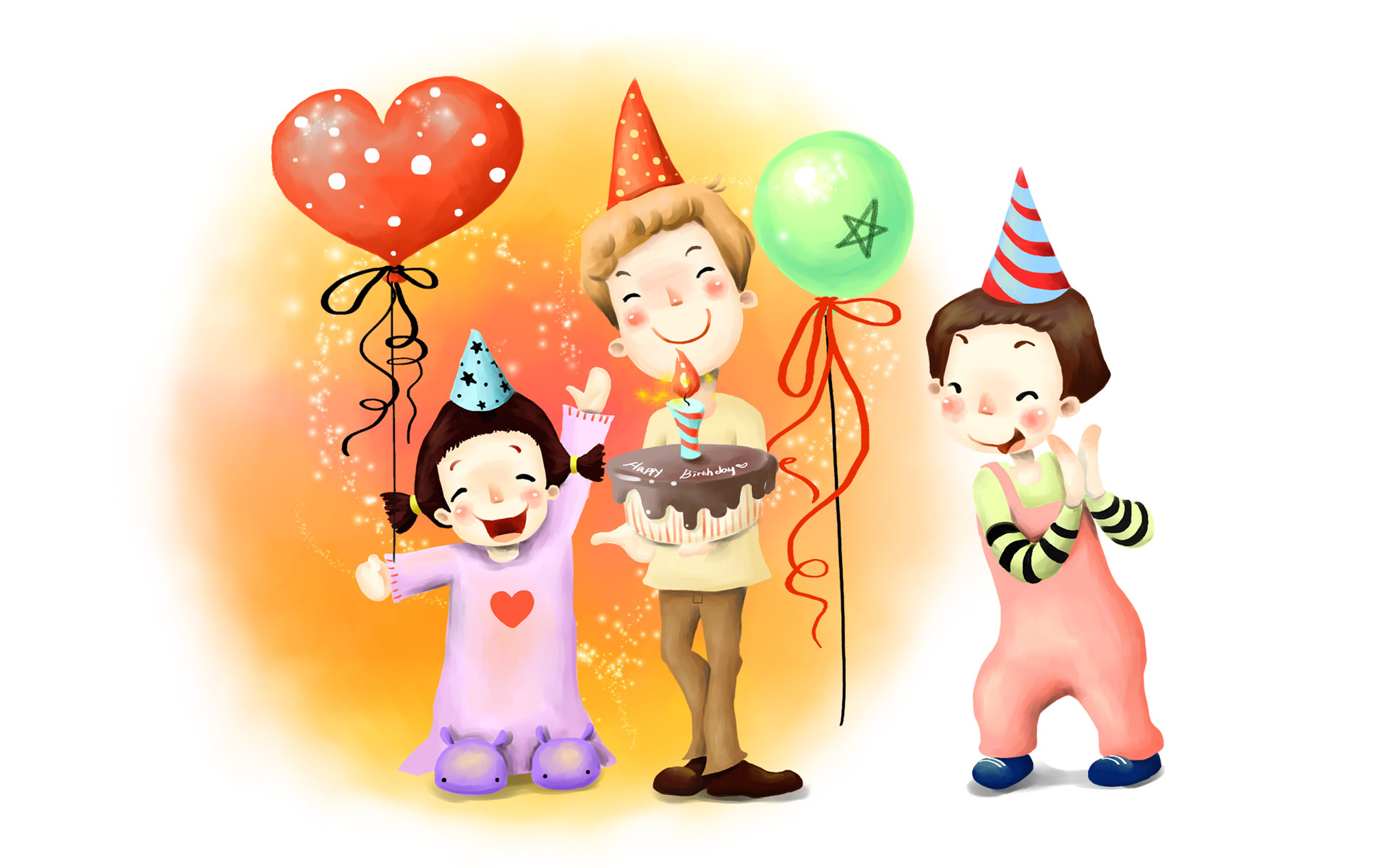 Cartoon Characters Birthdays : Happy birthday wallpapers pictures images