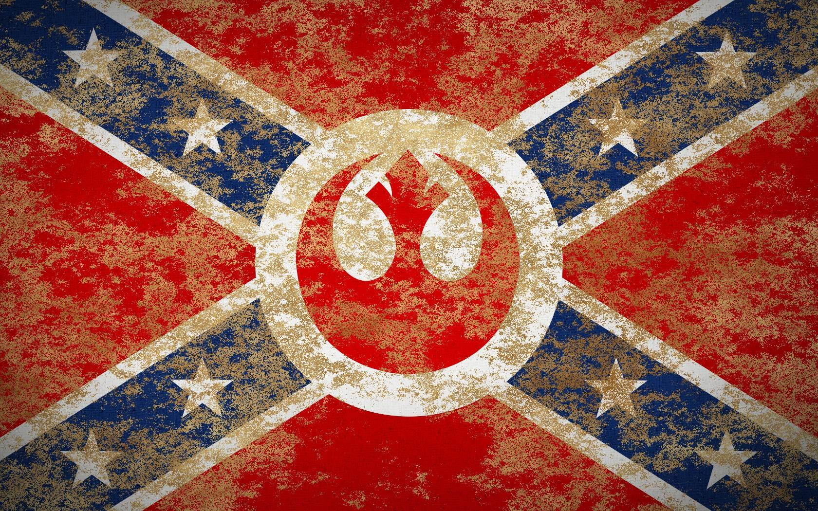 Confederate Flag Widescreen Wallpaper 1680x1050
