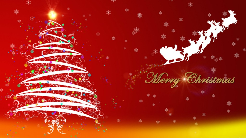 Merry Christmas Full HD Wallpaper 1920x1080
