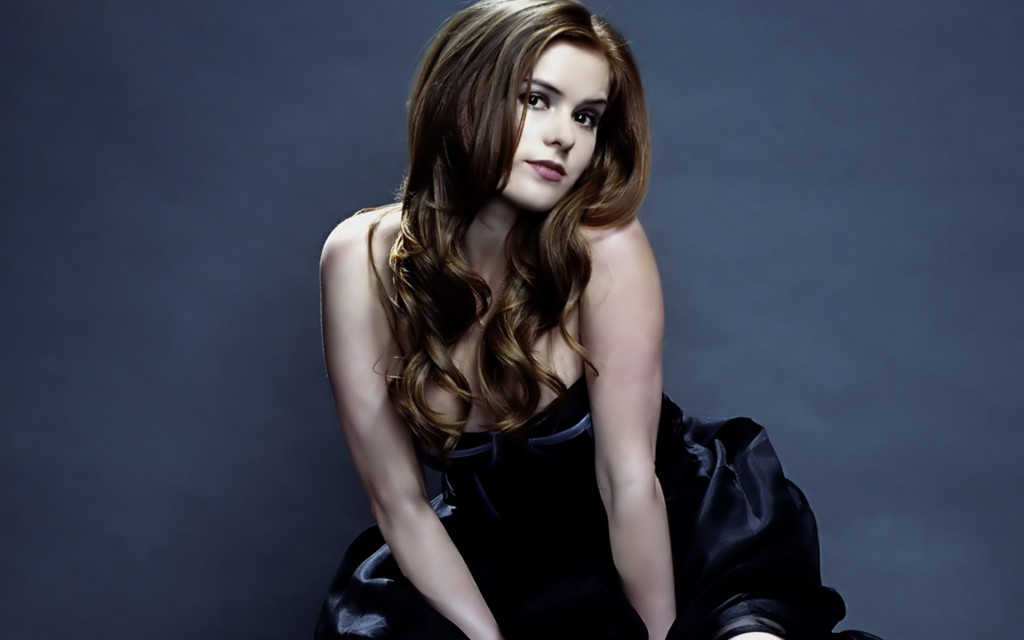 Isla Fisher Widescreen Wallpaper 1920x1200