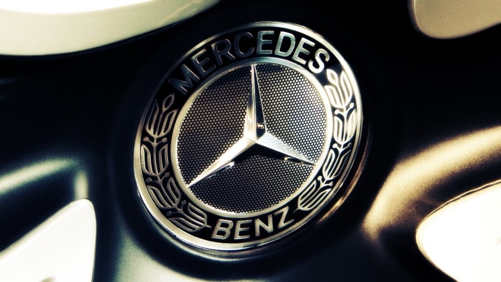 Mercedes Benz Logo Full HD Wallpaper 1920x1080