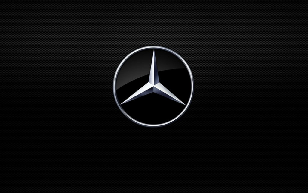 Mercedes Benz Logo Widescreen Wallpaper 1920x1200