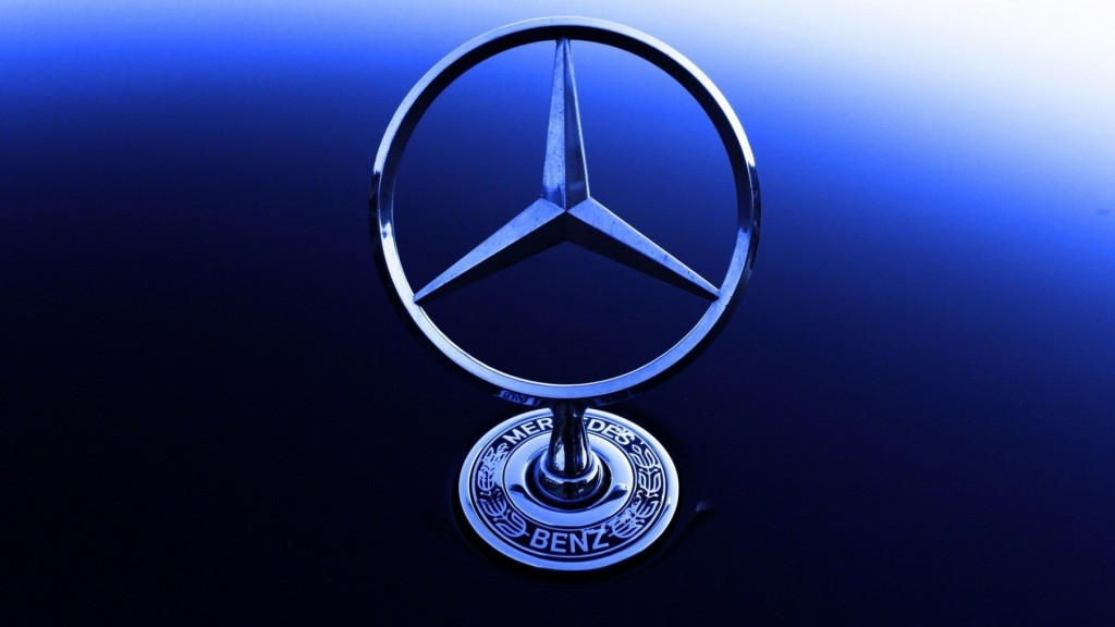 Mercedes Benz Logo Full HD Wallpaper 1920x1080