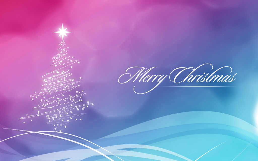 Merry Christmas Widescreen Wallpaper 2560x1600