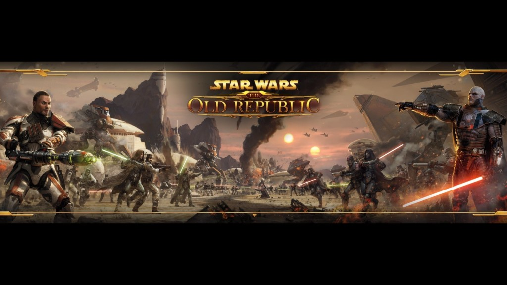 Star Wars: The Old Republic Dual Monitor Wallpaper 2048x1152