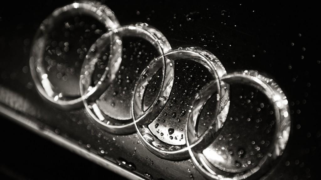 Audi Logo 4K UHD Wallpaper 3840x2160