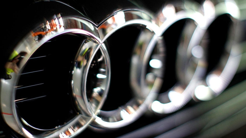 Audi Logo Full HD Wallpaper 1920x1080