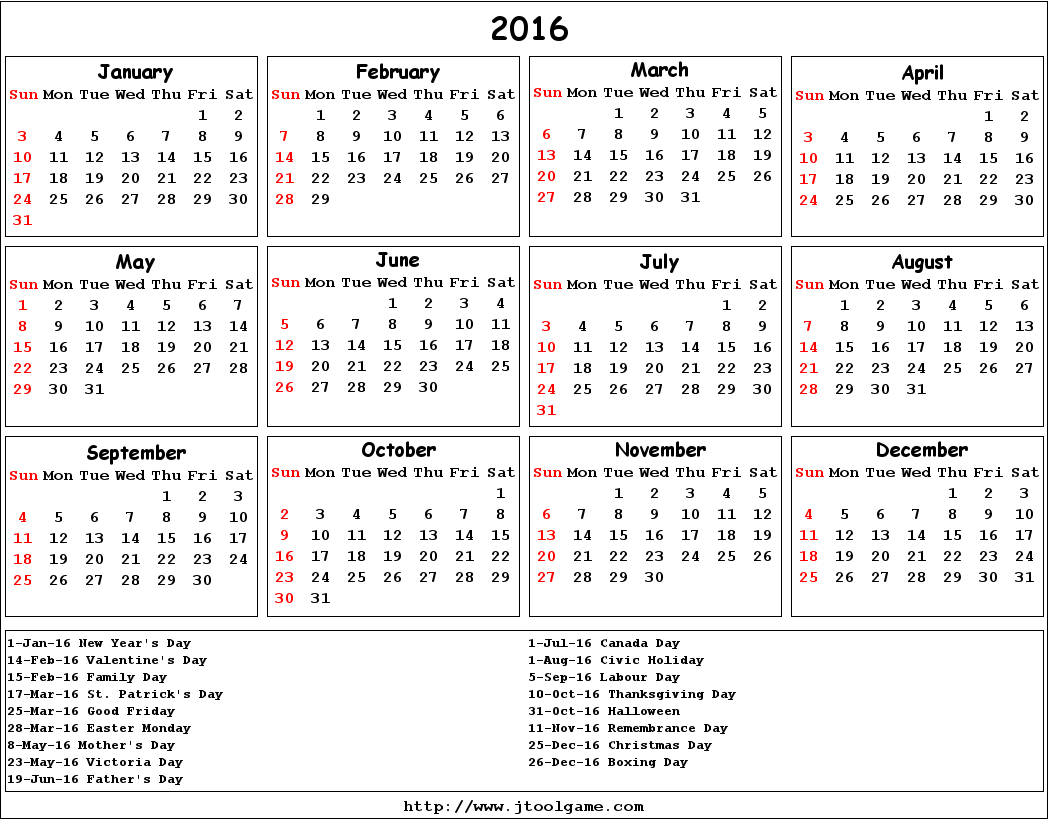 Calendar with holidays 2016 pictures images for Australian calendar template 2015