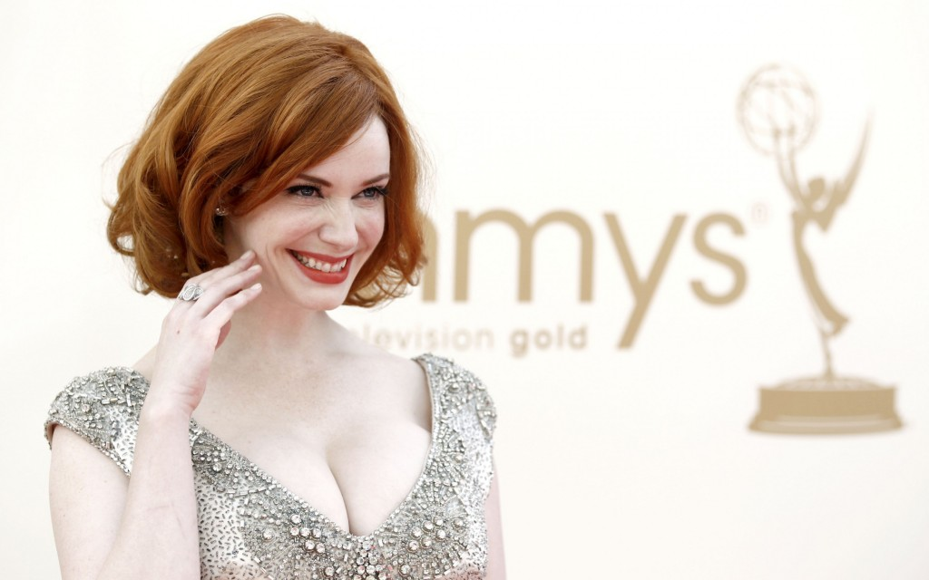 Christina Hendricks Widescreen Wallpaper 2880x1800
