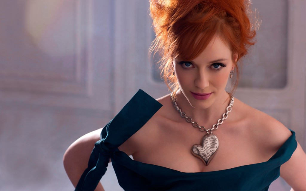 Christina Hendricks Widescreen Wallpaper 2560x1600