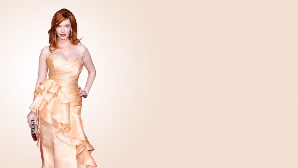 Christina Hendricks Full HD Wallpaper 1920x1080