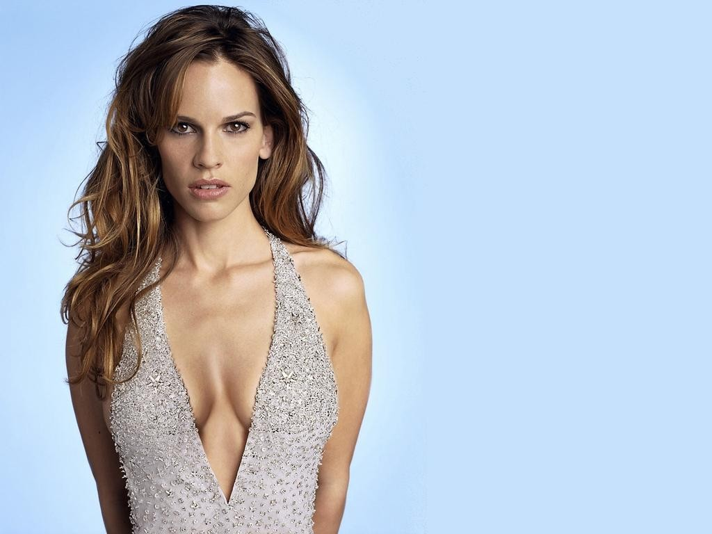Hilary Swank Wallpaper 1024x768