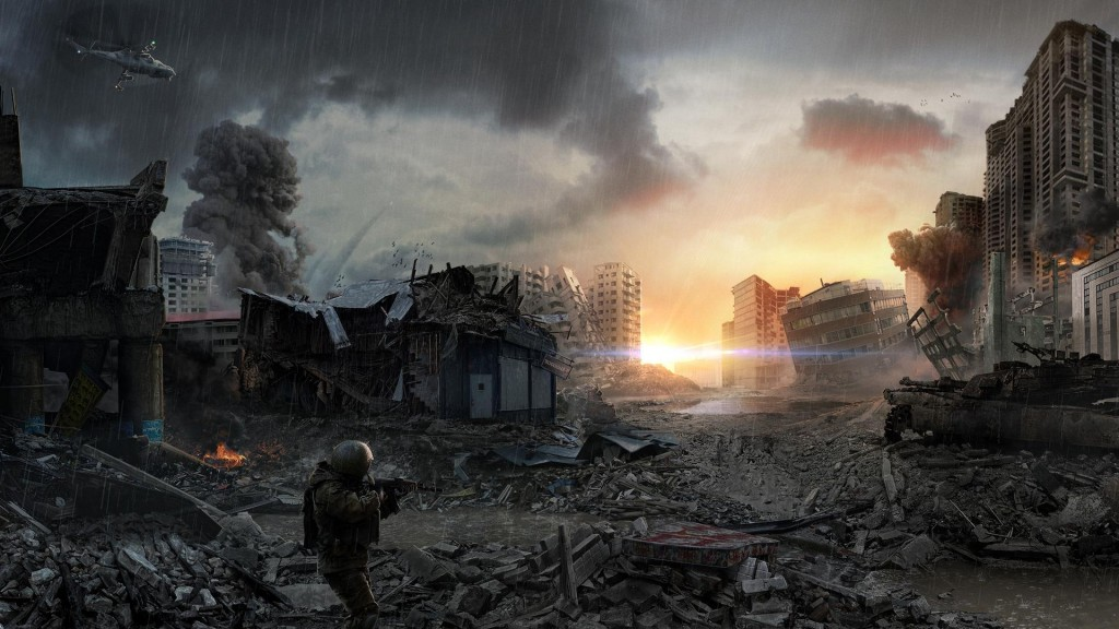 Post Apocalyptic Full HD Wallpaper 1920x1080