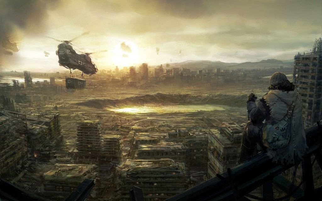 Post Apocalyptic Widescreen Wallpaper 1920x1200