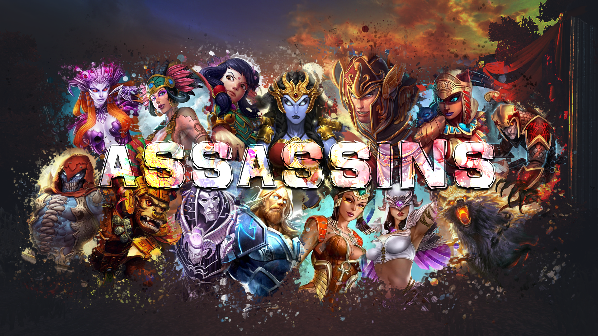 21+ Smite Wallpapers  PNG