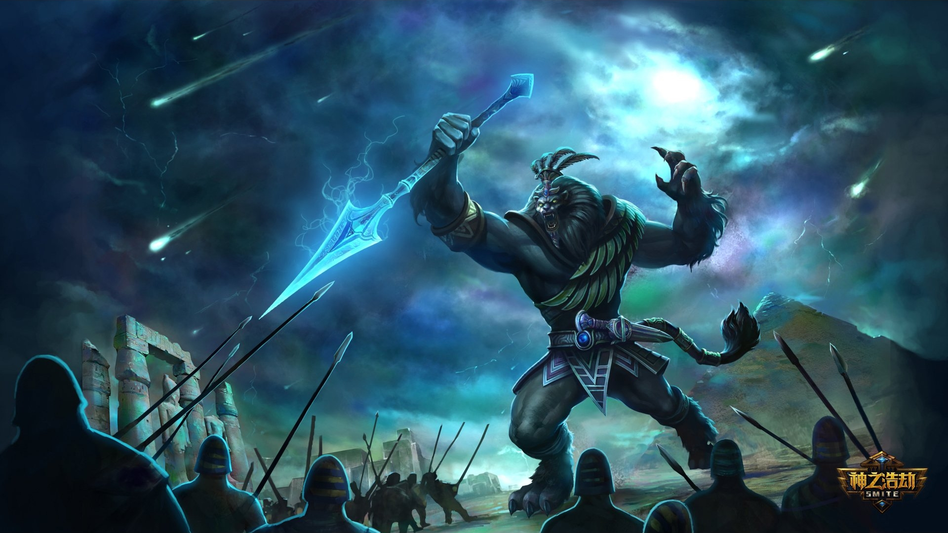 Smite Full HD Wallpaper 1920x1080