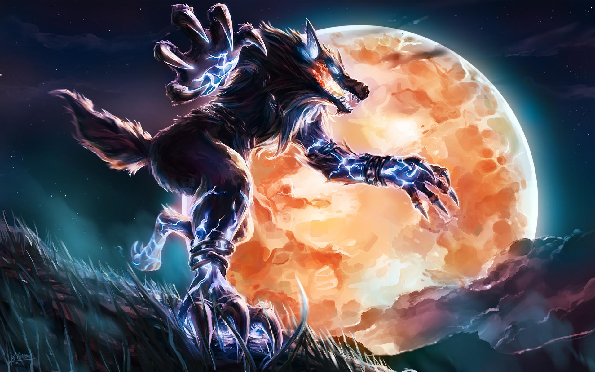Smite Wallpapers, Pict... Werewolf Wallpaper Iphone