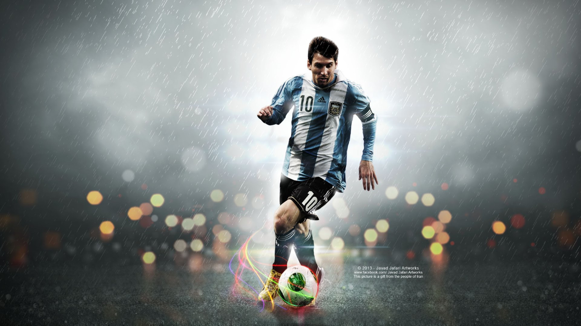 Lionel messi wallpapers pictures images for Full hd wallpaper