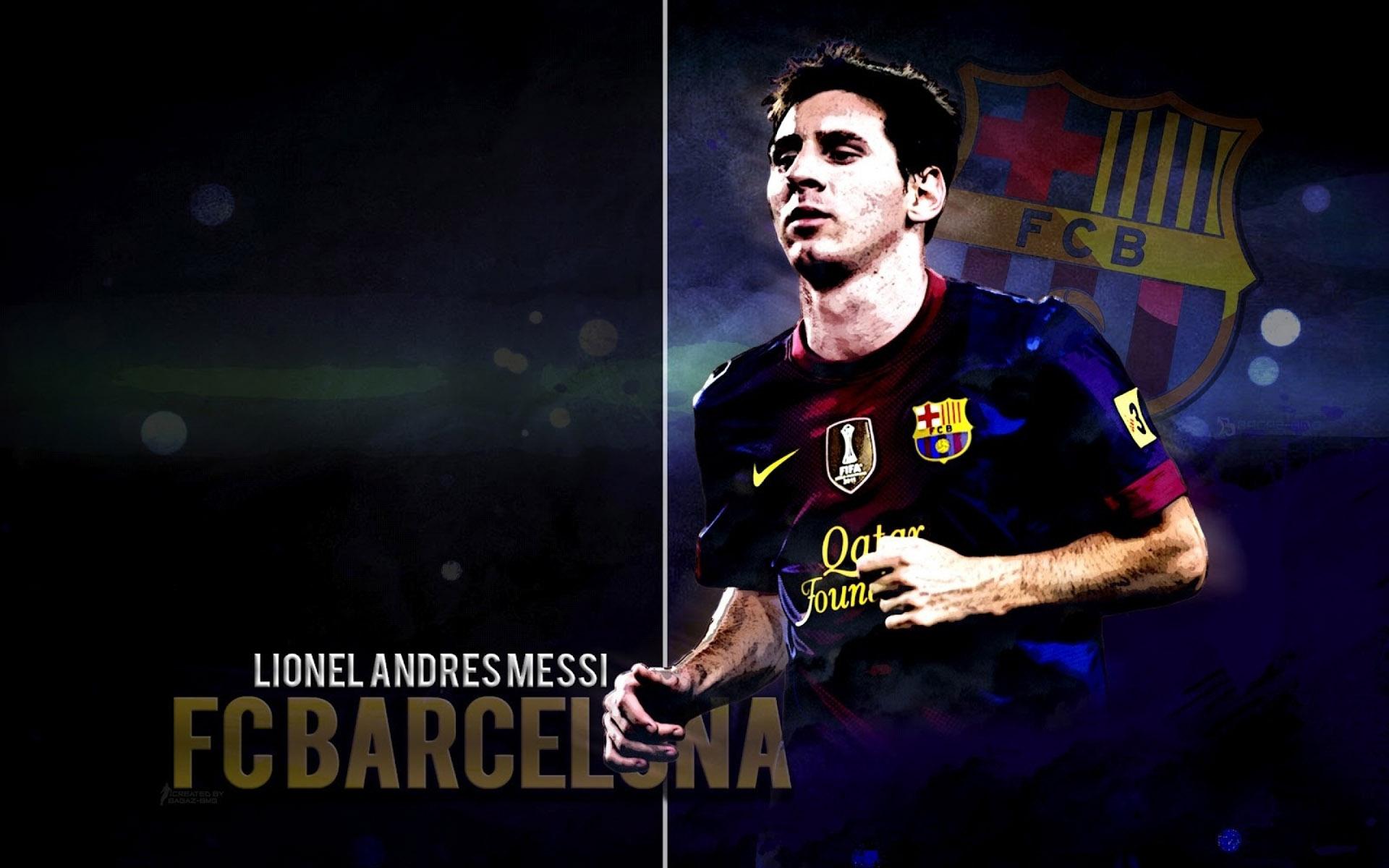 Lionel Messi Widescreen Wallpaper 1920x1200