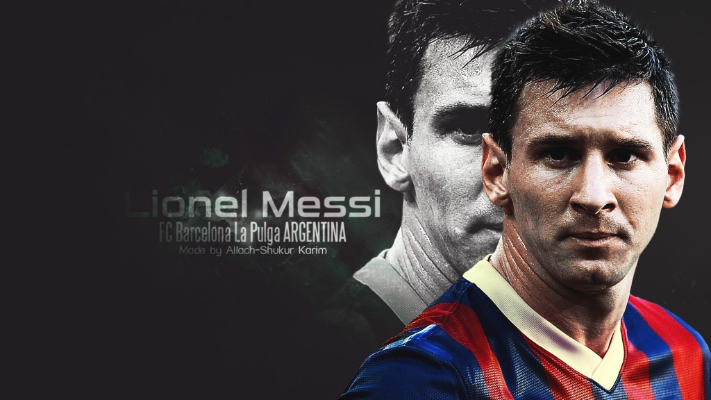 Lionel Messi Full HD Wallpaper 1920x1080