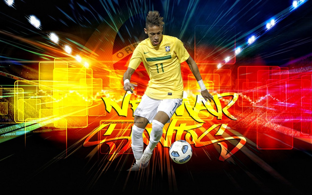 Neymar Widescreen Wallpaper 1280x800