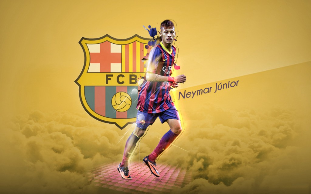 Neymar Widescreen Wallpaper 1680x1050