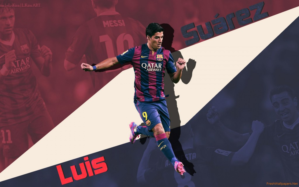 Luis Suarez Widescreen Wallpaper 2560x1600