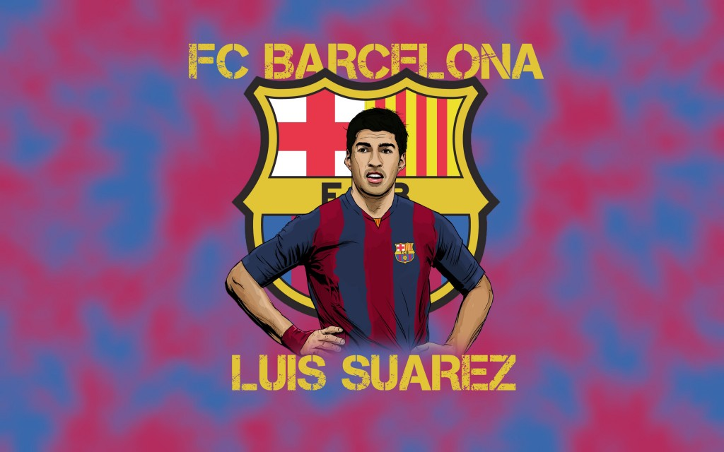 Luis Suarez Widescreen Wallpaper 2880x1800