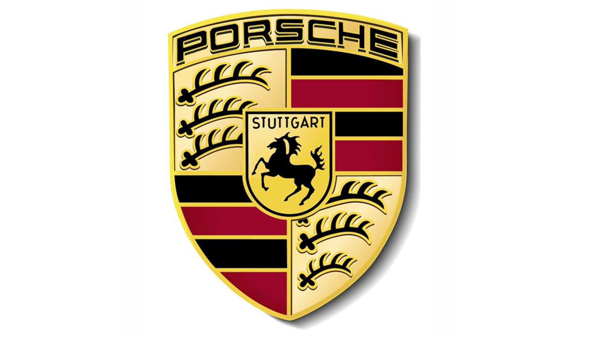 porsche logo wallpapers pictures images. Black Bedroom Furniture Sets. Home Design Ideas