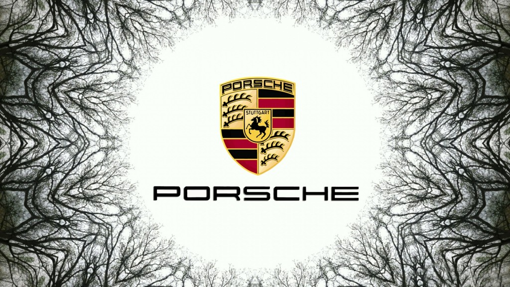 Porsche Logo Full HD Wallpaper 1920x1080