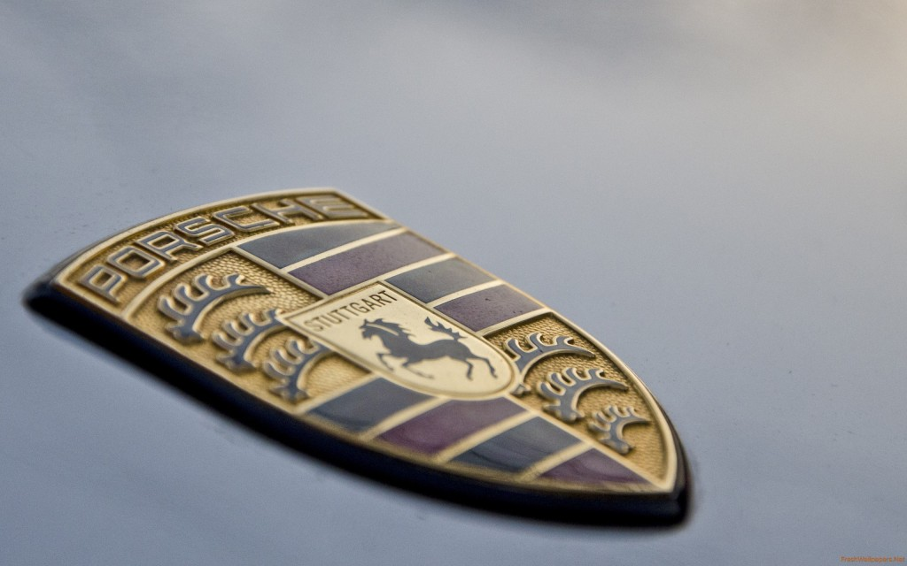 Porsche Logo Widescreen Wallpaper 2560x1600