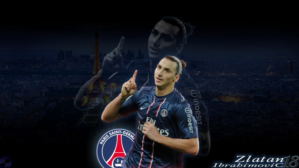 Zlatan Ibrahimovic Full HD Wallpaper 1920x1080
