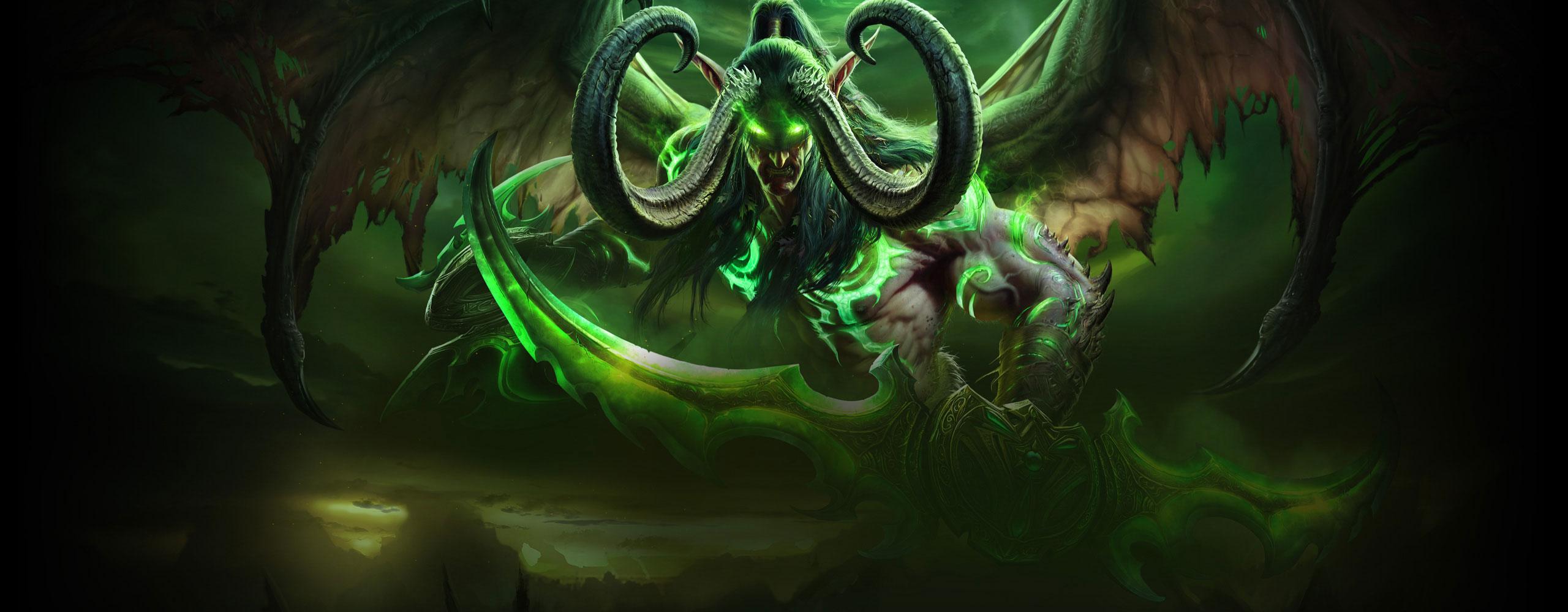 World Of Warcraft Legion Wallpaper 2560x1000