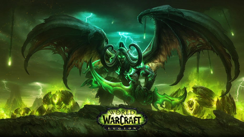 World of Warcraft: Legion Wallpaper 2560x1440