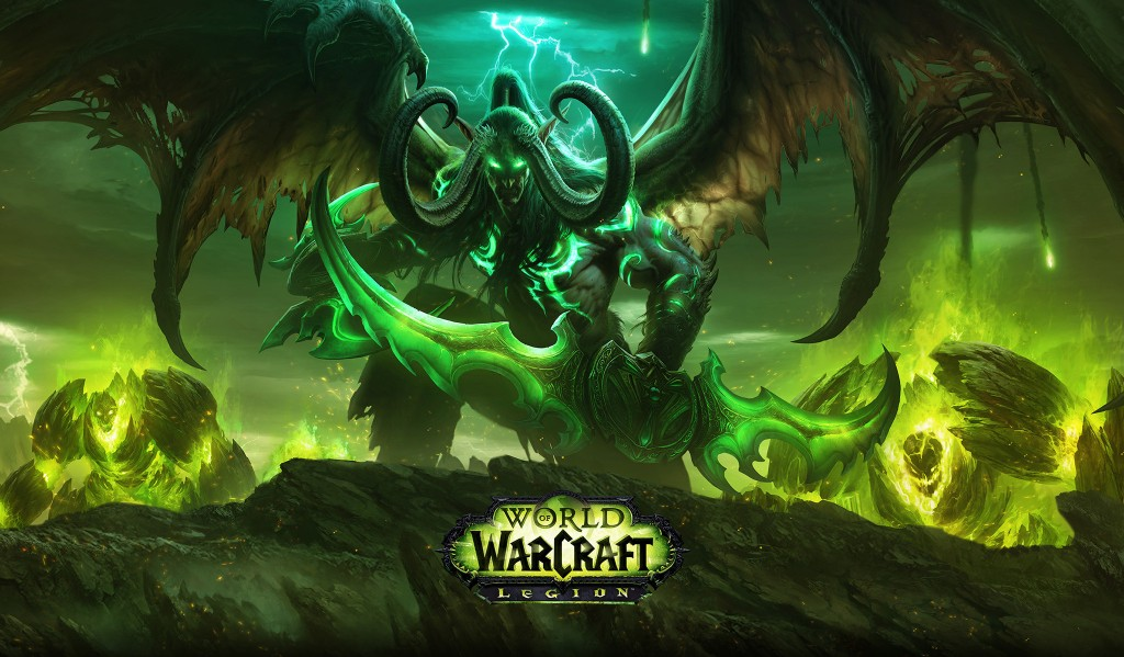 World of Warcraft: Legion Wallpaper 2048x1198