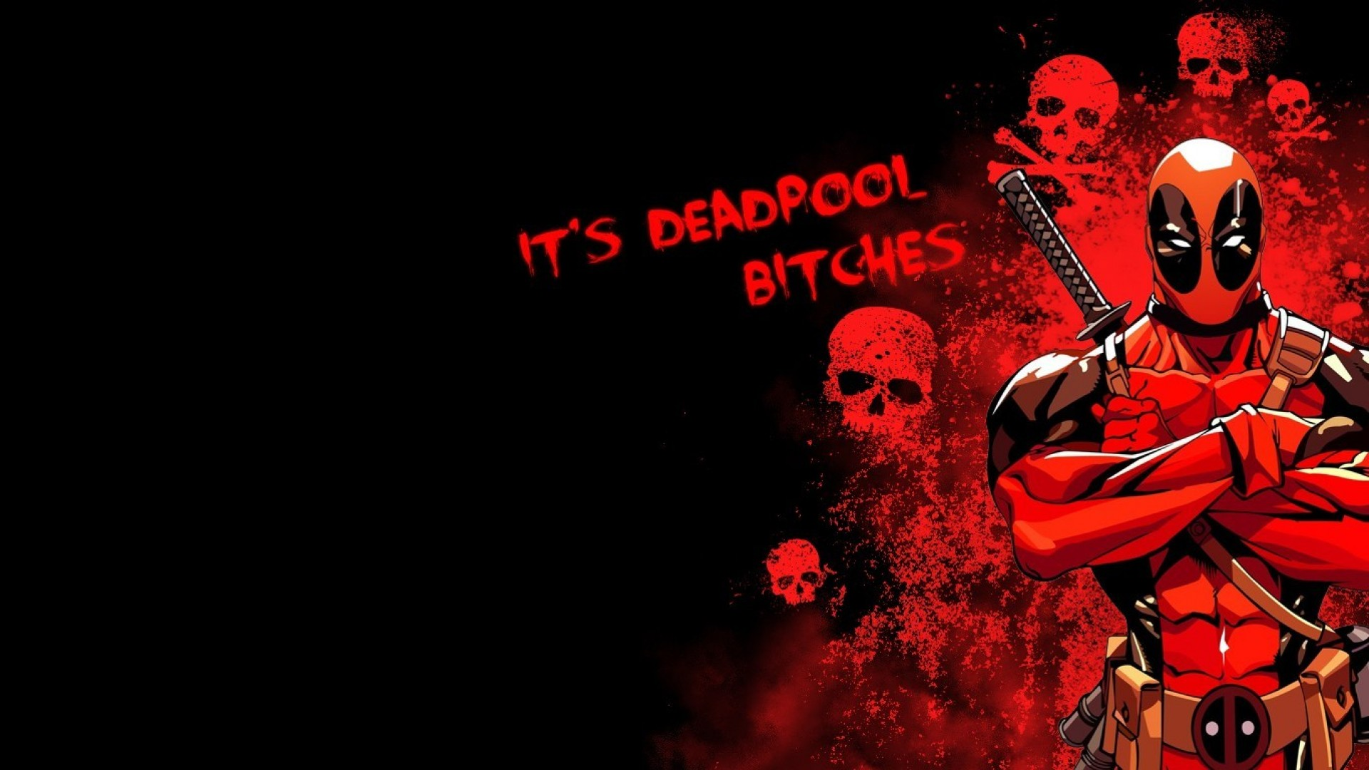 No Love Hd Wallpaper : Deadpool Wallpapers, Pictures, Images